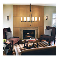 Kichler Lighting Neptune Place 10 Light Chandelier in Colton Bronze 42539CTZ