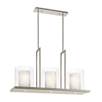 Kichler 42548CLP Triad 6 Light 12 inch Classic Pewter Chandelier Ceiling Light