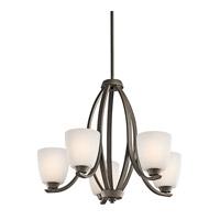 Kichler 42557OZ Granby 5 Light 24 inch Olde Bronze Chandelier Ceiling Light