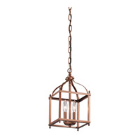 Kichler Larkin 2 Light Foyer Pendant in Antique Copper 42565ACO