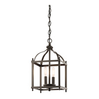Kichler 42565OZ Larkin 2 Light 8 inch Olde Bronze Foyer Pendant Ceiling Light