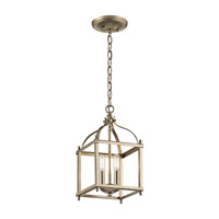 Kichler 42565SGD Larkin 2 Light 8 inch Sterling Gold Pendant Ceiling Light