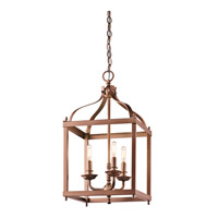 Kichler Larkin 3 Light Foyer Pendant in Antique Copper 42566ACO 42566ACO_v2.jpg thumb