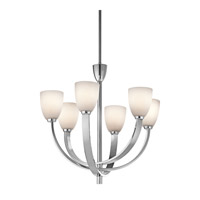 Kichler Lighting Laval 6 Light Chandelier in Chrome 42583CH