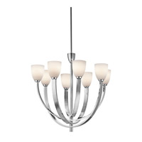Kichler Lighting Laval 8 Light Chandelier in Chrome 42584CH