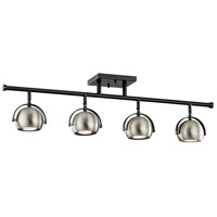 Kichler 42589BK Solstice 4 Light 120V Black Rail Light Ceiling Light