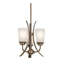 Kichler Lighting Coburn 3 Light Mini Chandelier in Old Iron 42600OI photo thumbnail