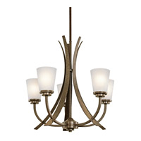 Kichler Lighting Coburn 5 Light Chandelier in Old Iron 42602OI photo thumbnail