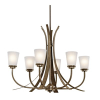 Kichler Lighting Coburn 6 Light Chandelier in Old Iron 42603OI
