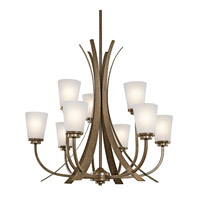 Kichler Lighting Coburn 9 Light Chandelier in Old Iron 42604OI photo thumbnail