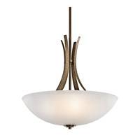 Kichler Lighting Coburn 4 Light Inverted Pendant in Old Iron 42606OI photo thumbnail