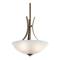 Kichler Lighting Coburn 3 Light Inverted Pendant in Old Iron 42607OI photo thumbnail