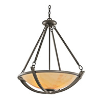 Kichler Lighting Carthage 3 Light Inverted Pendant in Olde Bronze 42615OZ