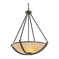 Kichler Lighting Carthage 3 Light Inverted Pendant in Olde Bronze 42616OZ photo thumbnail
