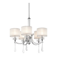 Kichler 42631CH Parker Point 5 Light 26 inch Chrome Chandelier Ceiling Light