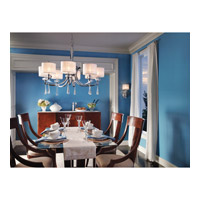 Kichler 42632CH Parker Point 8 Light 36 inch Chrome Chandelier Ceiling Light alternative photo thumbnail