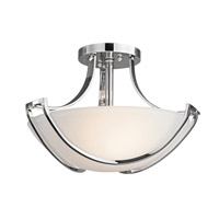 Kichler Lighting Owego 3 Light Semi-Flush in Chrome 42651CH