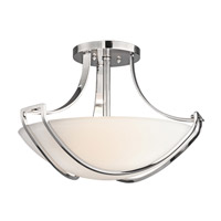 Kichler Lighting Owego 3 Light Semi-Flush in Chrome 42652CH