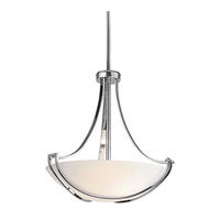 Kichler Lighting Owego 3 Light Inverted Pendant in Chrome 42653CH