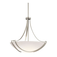 Kichler Lighting Owego 4 Light Inverted Pendant in Brushed Nickel 42654NI photo thumbnail