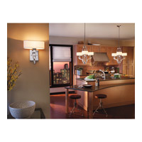 Kichler Lighting Point Claire 3 Light Chandelier in Chrome 42658CH alternative photo thumbnail