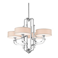 Kichler Lighting Point Claire 4 Light Chandelier in Chrome 42659CH photo thumbnail