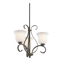 Kichler Lighting Sherbrooke 3 Light Chandelier in Olde Bronze 42673OZ