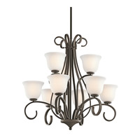 Kichler Lighting Sherbrooke 9 Light Chandelier in Olde Bronze 42676OZ photo thumbnail