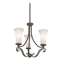 Kichler Lighting Wickham 3 Light Chandelier in Olde Bronze 42700OZ photo thumbnail