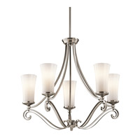 Kichler Lighting Wickham 5 Light Chandelier in Classic Pewter 42701CLP