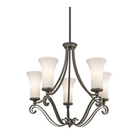 Kichler Lighting Wickham 5 Light Chandelier in Olde Bronze 42701OZ photo thumbnail
