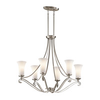 Kichler Lighting Wickham 6 Light Chandelier in Classic Pewter 42702CLP photo thumbnail