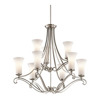 Kichler Lighting Wickham 9 Light Chandelier in Classic Pewter 42704CLP photo thumbnail
