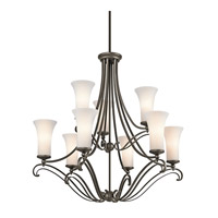 Kichler Lighting Wickham 9 Light Chandelier in Olde Bronze 42704OZ