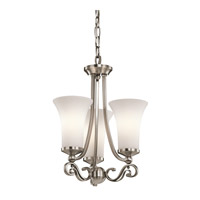 Kichler Lighting Wickham 3 Light Chandelier in Classic Pewter 42705CLP photo thumbnail