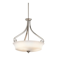 Kichler Lighting Wickham 3 Light Inverted Pendant in Classic Pewter 42706CLP photo thumbnail