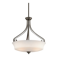 Kichler Lighting Wickham 3 Light Inverted Pendant in Olde Bronze 42706OZ