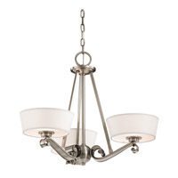 Kichler Lighting Livingston 3 Light Chandelier in Classic Pewter 42711CLP