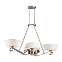 Kichler Lighting Livingston 3 Light Chandelier in Classic Pewter 42712CLP photo thumbnail