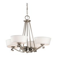 Kichler Lighting Livingston 4 Light Chandelier in Classic Pewter 42713CLP photo thumbnail