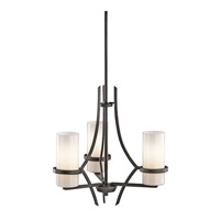 Kichler Lighting Beckett 3 Light Chandelier in Anvil Iron 42719AVI photo thumbnail