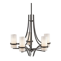 Kichler Lighting Beckett 5 Light Chandelier in Anvil Iron 42720AVI photo thumbnail