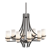 Kichler Lighting Beckett 8 Light Chandelier in Anvil Iron 42721AVI photo thumbnail