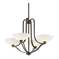 Kichler Lighting Chatham 4 Light Chandelier in Olde Bronze 42761OZ photo thumbnail