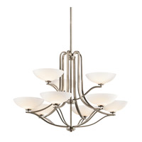 Kichler Lighting Chatham 9 Light Chandelier in Antique Pewter 42762AP photo thumbnail
