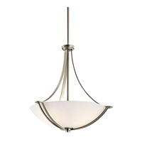 Kichler Lighting Chatham 3 Light Inverted Pendant in Antique Pewter 42764AP photo thumbnail