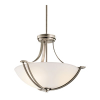 Kichler Lighting Chatham 3 Light Semi-Flush in Antique Pewter 42766AP