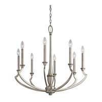 Kichler Lighting Semprini 8 Light Chandelier in Antique Pewter 42772AP photo thumbnail