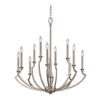 Kichler Lighting Semprini 12 Light Chandelier in Antique Pewter 42773AP photo thumbnail
