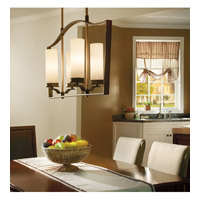 Kichler Lighting Aren 4 Light Chandelier in Olde Bronze 42775OZ